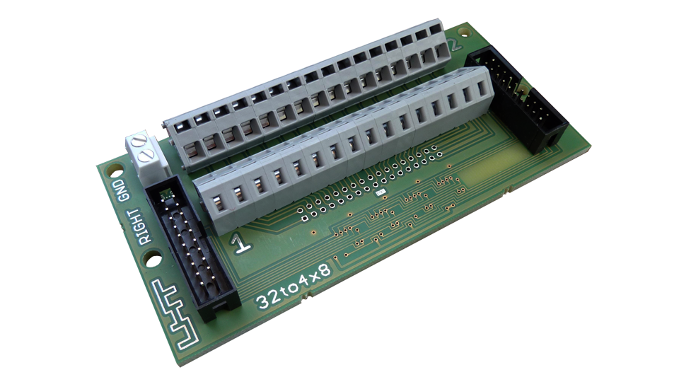 UHT - 32 to 4x8 interface